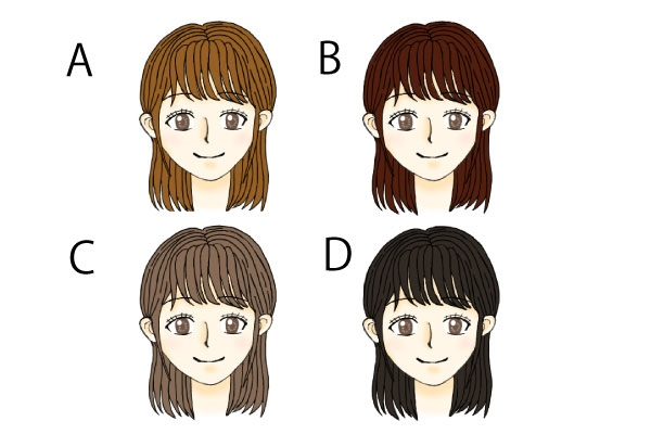 診断イラスト_髪の毛